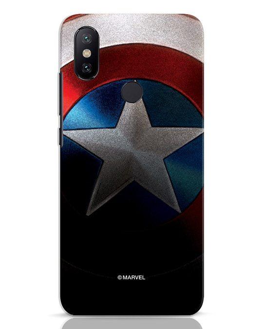 Shop Captain Xiaomi Mi A2 Mobile Cover-Front
