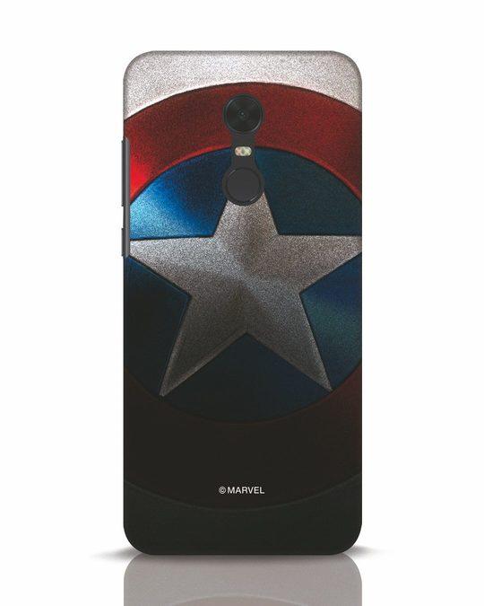 Shop Captain Xiaomi Redmi Note 5 Mobile Cover-Front