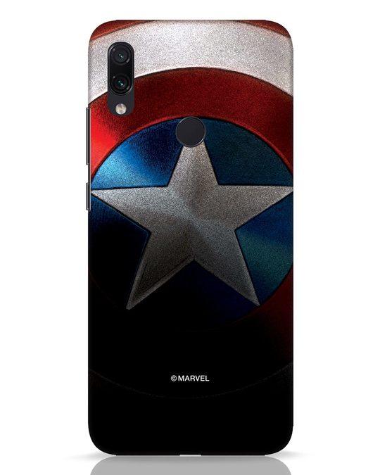 Shop Captain Xiaomi Redmi Note 7 Pro Mobile Cover-Front