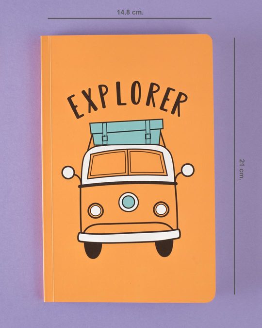 Shop Car Explorer Notebook-Back