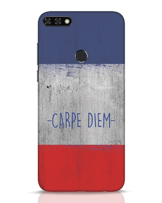 Shop Carpe Diem Huawei Honor 7C Mobile Cover-Front