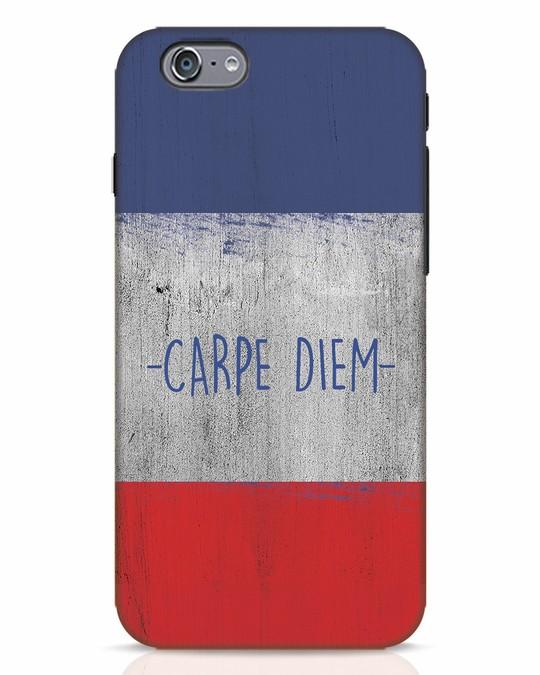 Shop Carpe Diem iPhone 6s Mobile Cover-Front