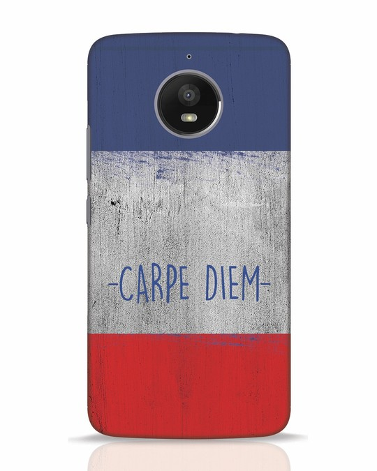 Shop Carpe Diem Moto E4 Plus Mobile Cover-Front