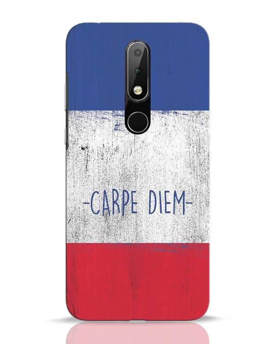 Shop Carpe Diem Nokia 6.1 Plus Mobile Cover-Front