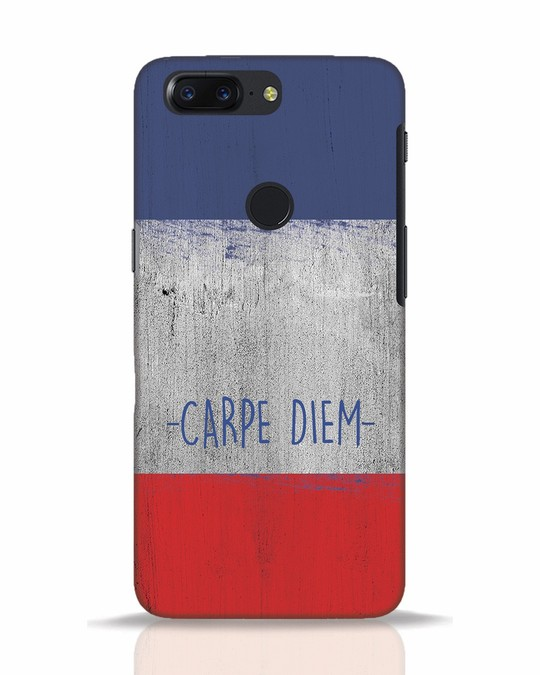 Shop Carpe Diem OnePlus 5T Mobile Cover-Front