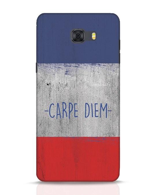 Shop Carpe Diem Samsung Galaxy C9 Pro Mobile Cover-Front