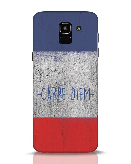 Shop Carpe Diem Samsung Galaxy J6 Mobile Cover-Front