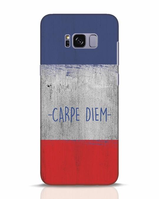 Shop Carpe Diem Samsung Galaxy S8 Plus Mobile Cover-Front