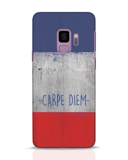 Shop Carpe Diem Samsung Galaxy S9 Mobile Cover-Front