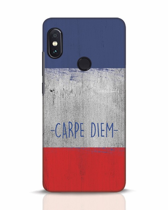 Shop Carpe Diem Xiaomi Redmi Note 5 Pro Mobile Cover-Front