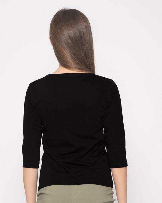 Shop Case Kheyeche Round Neck 3/4th Sleeve T-Shirt-Full