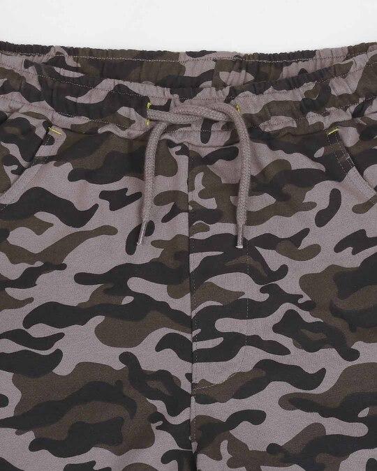 Shop Catalytic Black Camo Fleece Short