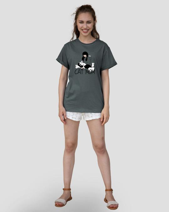 Shop Catmom Boyfriend T-Shirt-Design