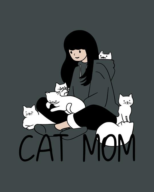 Shop Catmom Half Sleeve T-Shirt-Full