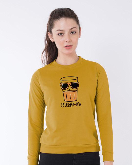 Shop Celebri-tea Sweatshirt-Front