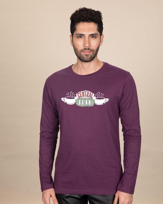 Shop Central Perk Full Sleeve T-Shirt (FRL)-Front