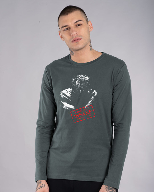 Shop Certified Insane Full Sleeve T-Shirt (BML)-Front