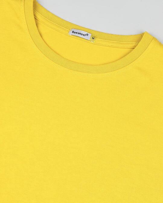 Shop Ceylon Yellow Full Sleeve T-shirt