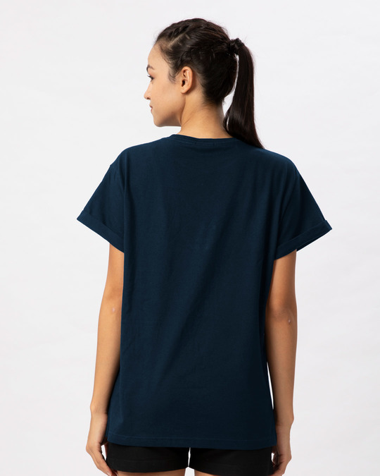 Shop Chaava Boyfriend T-Shirt-Full