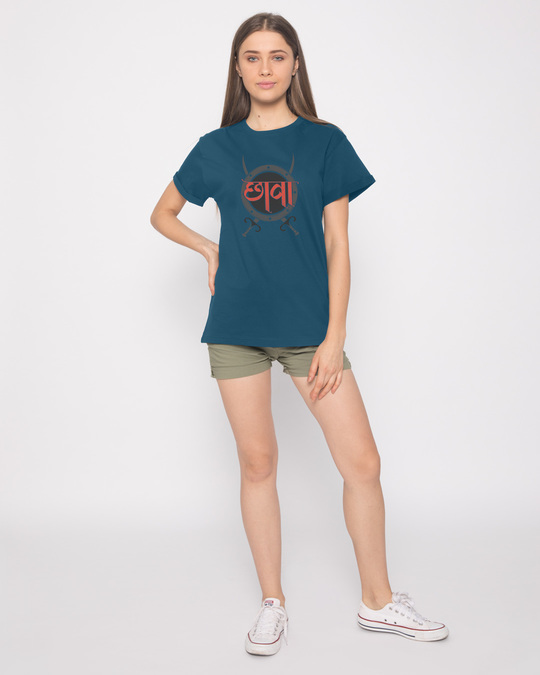 Shop Chaava Boyfriend T-Shirt
