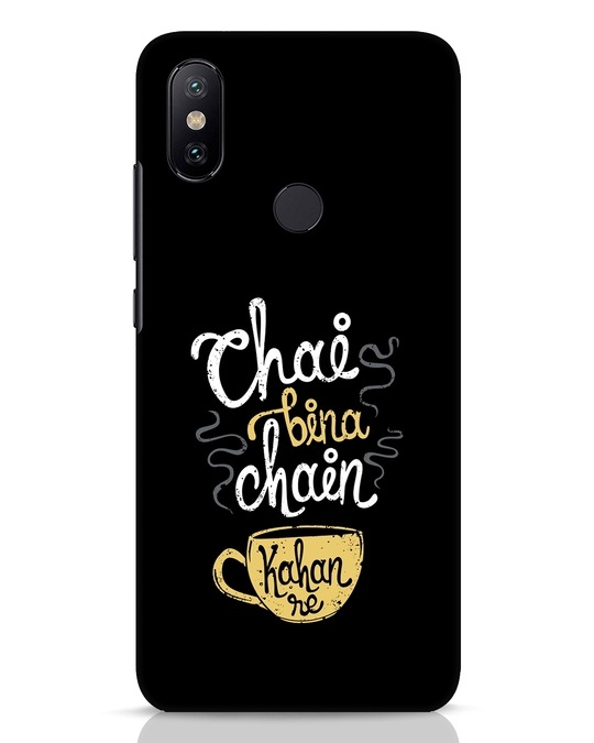 Shop Chai Bina Chain Kahan Re Xiaomi Mi A2 Mobile Cover-Front