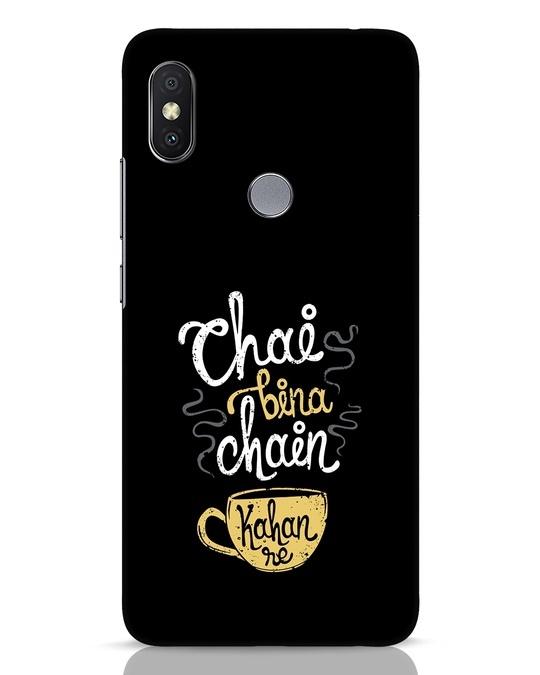 Shop Chai Bina Chain Kahan Re Xiaomi Redmi Y2 Mobile Cover-Front