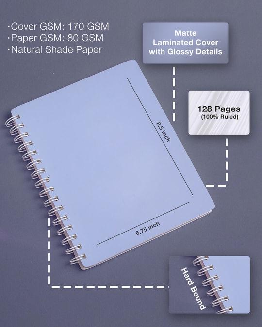 Shop Chai Helps Spiral Notebook-Design