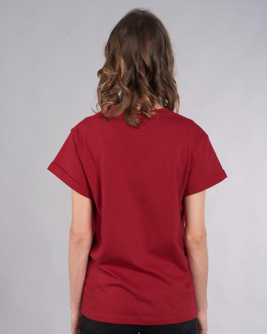 Shop Chai Lover Mickey Boyfriend T-Shirt (DL)-Back