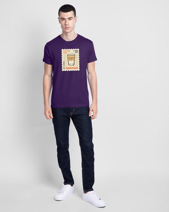 Shop Chai Optimism Men's Printed T-Shirts-Design
