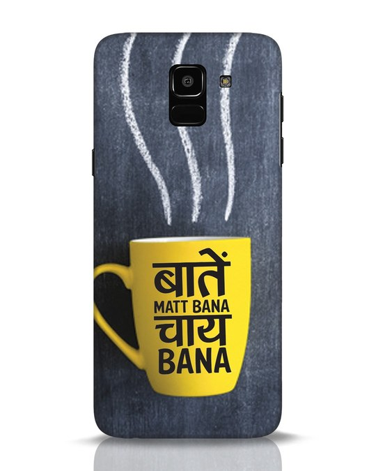 Shop Chai Samsung Galaxy J6 Mobile Cover-Front