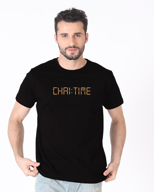 Shop Chai Time Half Sleeve T-Shirt-Back