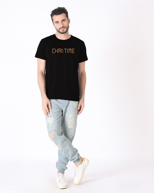 Shop Chai Time Half Sleeve T-Shirt