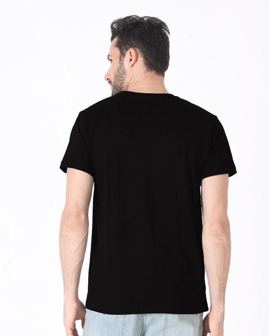 Shop Chal Chai Peete Hai Half Sleeve T-Shirt-Full