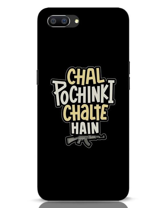 Shop Chal Pochinki Chalte Hain Realme C1 Mobile Cover-Front