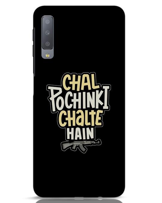 Shop Chal Pochinki Chalte Hain Samsung Galaxy A7 Mobile Cover-Front