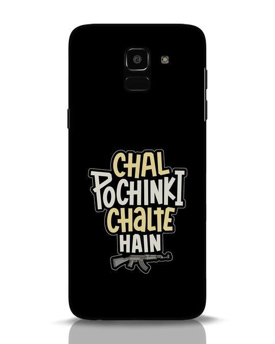 Shop Chal Pochinki Chalte Hain Samsung Galaxy J6 Mobile Cover-Front