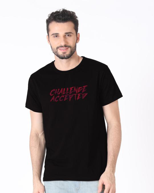Shop Challenge Half Sleeve T-Shirt-Back