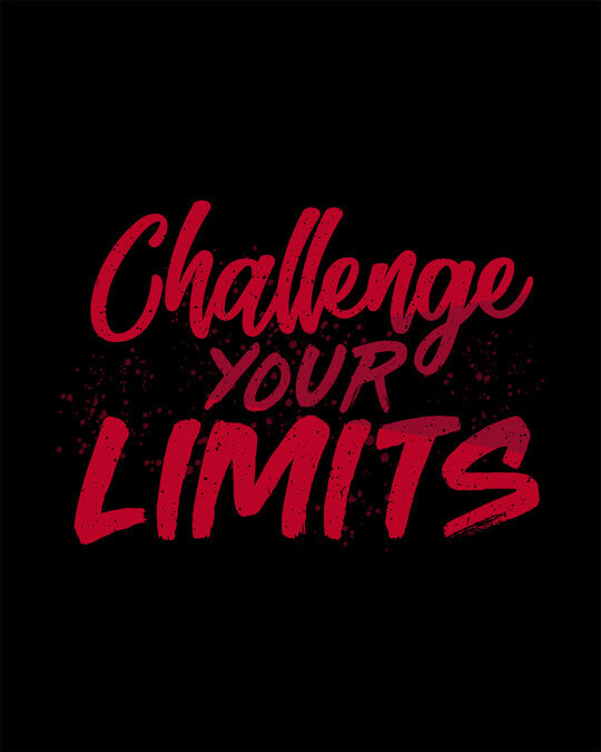 Shop Challenge Your Limits Half Sleeve T-Shirt