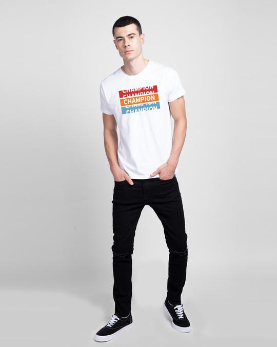 Shop Champion Repeat Half Sleeve T-Shirt-Design