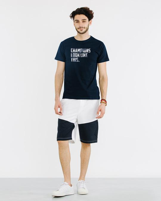 Shop Champions Look Like This Half Sleeve T-Shirt