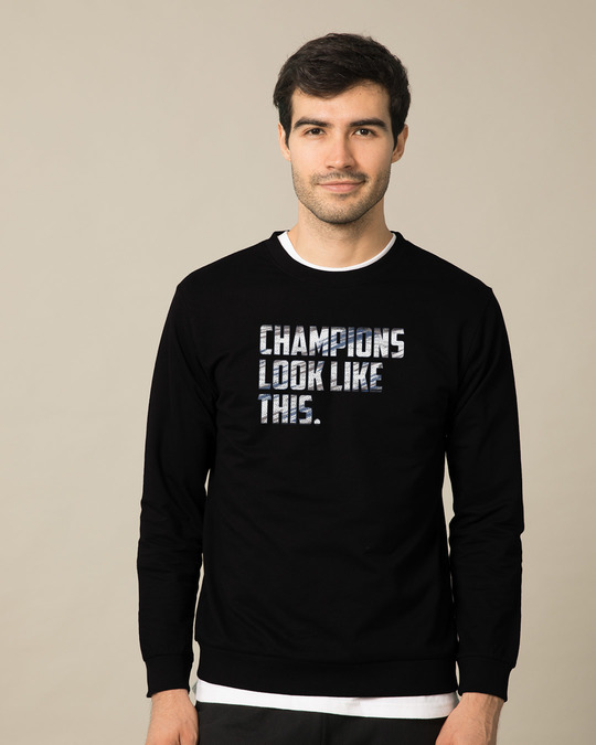 Shop Champions Look Like This Sweatshirt-Front