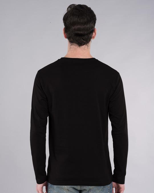 Shop Chand Pe Hai Astronaut Full Sleeve T-Shirt-Back