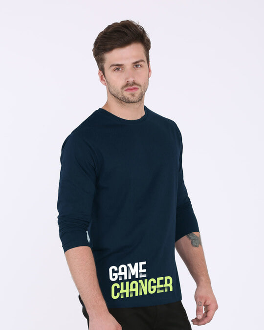 Shop Change The Game Full Sleeve T-Shirt-Back