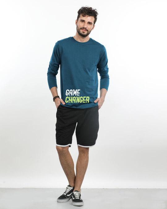Shop Change The Game Full Sleeve T-Shirt-Design