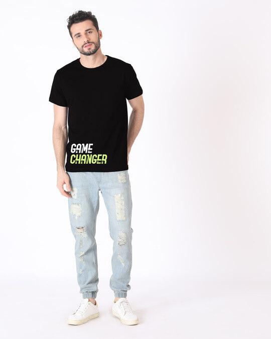 Shop Change The Game Half Sleeve T-Shirt-Full