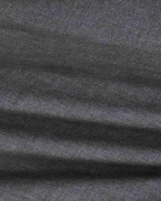 Shop Charcoal Grey Casual Cotton Trouser