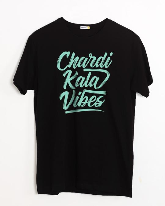 Shop Chardi Kala Vibes Half Sleeve T-Shirt-Front