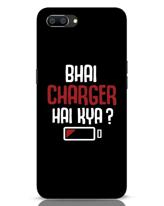 Shop Charger Hai Kya Realme C1 Mobile Cover-Front