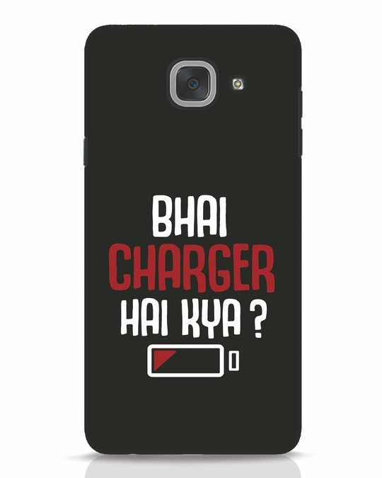 Shop Charger Hai Kya Samsung Galaxy J7 Max Mobile Cover-Front