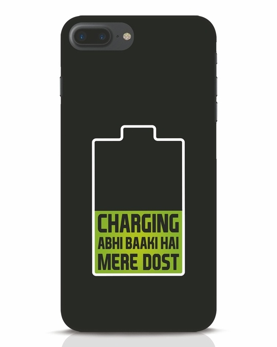 Shop Charging Abhi Baaki Hai Mere Dot iPhone 7 Plus Mobile Cover-Front